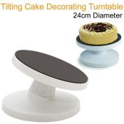 Ardisle Tilting Cake Decorating Rotating Revolving Display Turntable Stand