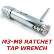 Professional Ratchet Tap Wrench Suits M3-m8 Taps Forward And Reverse And Lock