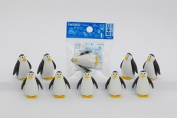 Penguin eraser (entering ten)