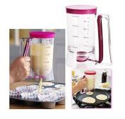 Cake Mix Batter Dispenser Cupcake Pancake Muffin Measuring Baking Release Jug