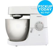 Kenwood Kmc515 1000w 4.6l Chef Kitchen Machine - White :the Official Argos Store