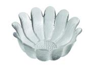 Dartington Crystal Daisy Bowl, Clear, Large