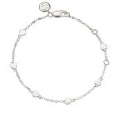 Molly Brown | Flower Girl 'By The Inch' Heart Bracelet