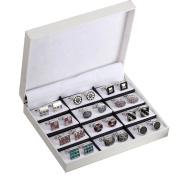 Elegant Cufflinks for Men Gift Set Men's Cuff Links 12 Pack