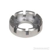 New Silverline Spoke Key 10-15 Gauge