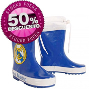 Boots Water Real Madrid Blue Adjustable Closure