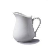 Cks White Ceramic Milk Cream Jug