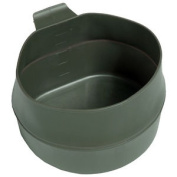 Mil-tec Fold-a-cup 600ml Collapsible Outdoor Mug Folding Camping Drink Cup Olive
