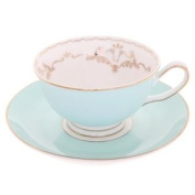 Bombay Duck Miss Darcy Mint Green And Gold Bird Cup