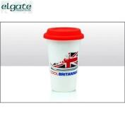 Elgate Cool Britannia Double Walled Coffee Cup 15 Cm Tea Mugs Souvenir Home New