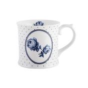 Katie Alice Vintage Indigo Floral Spot Tankard Mug