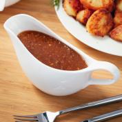 Judge Table Essentials White Ceramic Gravy Sauce Boat Jug 300ml Or 550ml