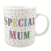 Special Mum & Stars Fine China Mug With Box – Dishwasher & Microwave Safe