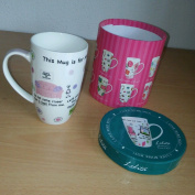 Lolita 'mummy's Time Out' Coffee Tea Boxed Kitchen Present Cup Mug