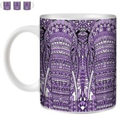 Stuff4 Tea/coffee Mug/cup 350ml/purple/a