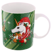 Unicorn Mug /enchanted Christmas It's The Most Magical Time Of The Year