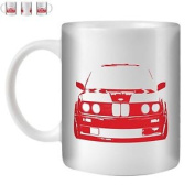 Stuff4 Tea/coffee Mug/cup 350ml/red/retr