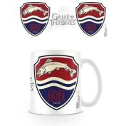 House Tully Game Of Thrones Mug Ceramic Cup Tea Coffee Tv Riverrun Westeros