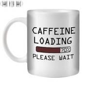 Stuff4 Tea/coffee Mug/cup 350ml/caffeine