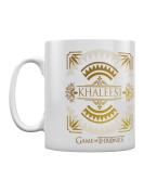 Game Of Thrones Khaleesi White Got Mug