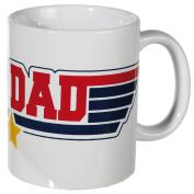 Top Dad Ceramic Mug Hot Coffee Chocolate Tea Drinks Kitchen Drinking Cup