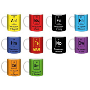 Stuff4 Tea/coffee Mug/cup 350ml/funny Elements/st10