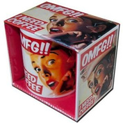 New Omfg I Need Coffee Boxed Mug Retro Ceramic Coffee Cup Omg Adult Funny