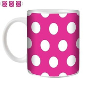 Stuff4 Tea/coffee Mug/cup 350ml/pink/pol