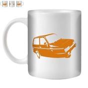 Stuff4 Tea/coffee Mug/cup 350ml/orange/r
