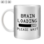Stuff4 Tea/coffee Mug/cup 350ml/brain/fu