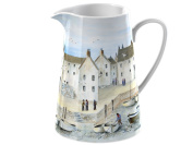 Creative Tops Cornish Harbour Jug Clay/stoneware Blue Small 750 Ml