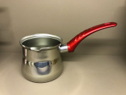 Pot Induction 500ml Turkish Mocha Milk Jug Coffee Jug Stainless Steel 10red
