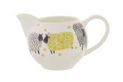 Ulster Weavers Dotty Sheep Yellow Porcelain Cream Or Milk Jug Creamer