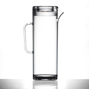 Plastic Jug With Lid, 3 Pint | Tall Plastic Jug | Virtually Unbreakable - By Bbp