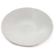 Plate Beautiful White Shell Relief Pattern - Plates Dinner Dinnerware China Uk