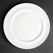 12x Royal Porcelain White Maxadura Advantage Service Plates 280mm Fine China