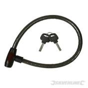 Silverline Heavy Duty Cable Lock 1020mm - 583255 950mm