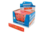 Silverline 868507 Magnetic Pocket Level Display Box 40pce 40pce