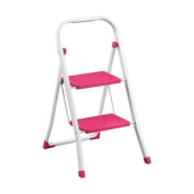 Bonsoni 2 Step Hot Pink Step Ladder By Protege Homeware