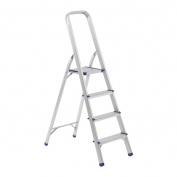 Bonsoni Aluminium Folding 4 Step Ladder By Protege Homeware