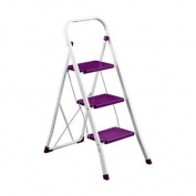 Bonsoni 3 Step Purple Step Ladder By Protege Homeware