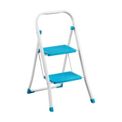 Bonsoni 2 Step Blue Step Ladder By Protege Homeware