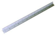 Rolson Triangle Scale Ruler - 300 Mm