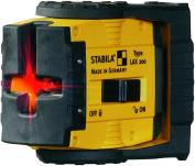 Stabila 10970cm lax 510cm Cross Line Laser Basis Set - Multi-colour