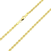 14 Ct. / 585 Yellow Gold Rope Bracelet 3 mm wide