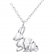 Laimons Ladies' Necklace filigree hare 925 Sterling silver