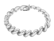 Tuscany Silver Sterling Silver Large San Marco Bracelet of 19cm/7.5""