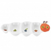 Portmeirion The Very Hungry Caterpillar Caterpillar Shaped Party Plate 30cm