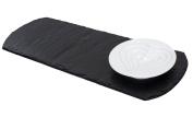 Just Slate Oil And Vinegar Dipping Bowl Set On Slate Board Base