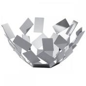 Alessi 27cm La Stanza Dello Scirocco Fruit Bowl - Stainless Steel